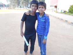 two boys in india